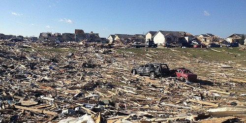Assessing Damaged or Destroyed Property in the Aftermath of Recent Tornadoes in Indiana and Illinois